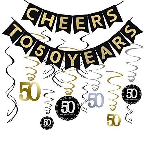 50th Anniversary Party Decorations: Amazon.com
