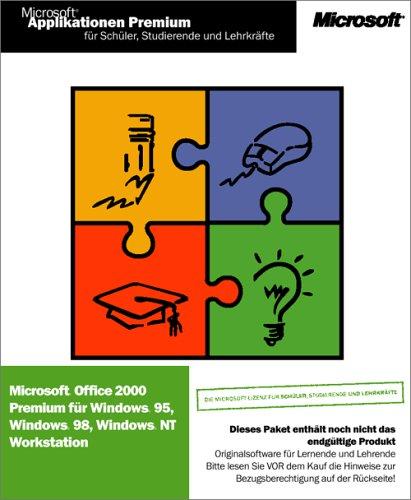 Microsoft SSL Office Premium 2000 -- nur für Schüler, Studenten und Lehrer