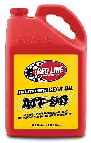 Red Line (50305) Manual Transmission (MT) 90W Gear Oil - Synthetic Gear Lube - 1 Gallon