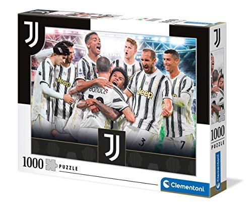 Clementoni Juventus-puzzle adulti 1000 pezzi, Made in Italy, Multicolore, 39619