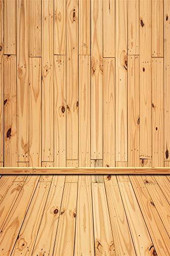 Tabla de Madera Vieja tablones de Piso Textura bebé niño Fiesta muñeca Retrato Foto telón de Fondo Estudio fotográfico A13 10x7ft / 3x2,2 m