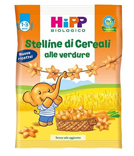 Hipp - Stelline Di Cereali Bio Alla Frutta E Verdura, 9 Confezioni da 30 G - 270 g