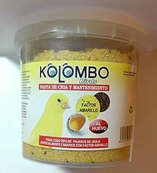 Kolombo Pâtée d'élevage et d'entretien, pour un jaune éclatant, format 450 g