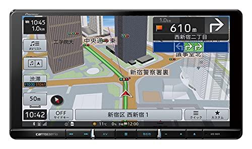 パイオニア カーナビ カロッツェリア 楽ナビ 9型 AVIC-RQ911-E 無料地図更新/フルセグ/Bluetooth/HDMI/DVD/...