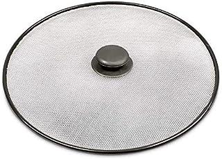 VITA PERFETTA - Pantalla antisalpicaduras de aceite de acero inoxidable - Tapa antisalpicaduras (29 cm)