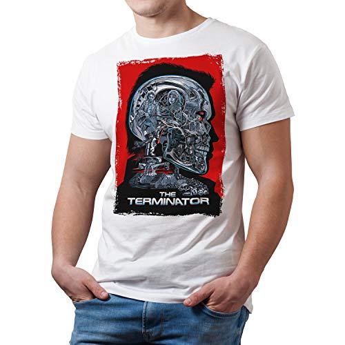 Camiseta Hombre Cine Terminator, Arnold...