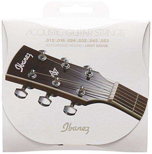 Ibanez IACS6C - Juego cuerdas para guitarra acústica