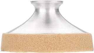 Tbest Amortiguador de Saxofón,Silenciador Saxofón Ligero de Aleación de Aluminio Sax Saxofón Mute Sax Sonido Profesional Mini Amortiguador Silenciador Accesorio para Tenor/Alto/Soprano