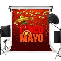 ケイトMay 5フィエスタ写真バックドロップCinco De Mayoカーニバル背景