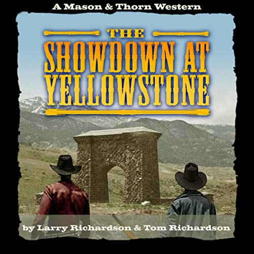 The Showdown at Yellowstone audiobook cover art