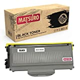Matsuro Original | Compatible Cartucho de Toner Reemplazo para Brother TN-2110 TN-2120 (1 Negro)