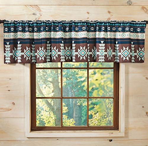 BLACK FOREST DECOR Canyon Spice Valance