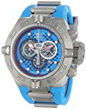 Invicta Men's 10975 Subaqua Noma IV Chronograph Blue Cut-Out Dial Blue and Grey Polyurethane Watch