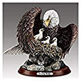 Bradford The Exchange Guiding Wings Noble Guardians Limited Edition Eagle Sculpture