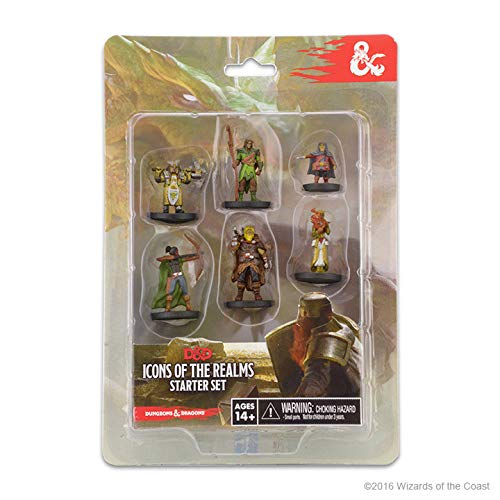 WizKids 72778 Dungeons & Dragons Icons of the Realms Starter Set