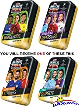 Champions League 2019-20 Topps Match Attax Extra Cards Includes Sterling, Neymar, Mane, De Bruyne, Son, Coutinho /& Salah LE Gold Cards Gold Limited Edition 7-Card Set