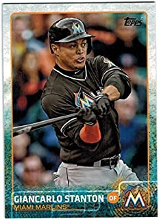 2015 Topps I & II Miami Marlins Team Set with Giancarlo Stanton & Christian Yelich - 19 MLB Cards