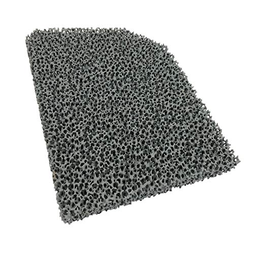 Flamado Kaminofen Feinstaub Rußfilter 220 x 165 x 25 mm Kamin Brennraum Ersatzteil