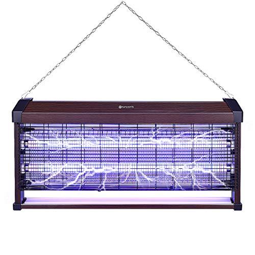 YUNLIGHTS Zanzariera elettrica 40 W trappola antizanzare elettrica con luce UV per interni ed esterni
