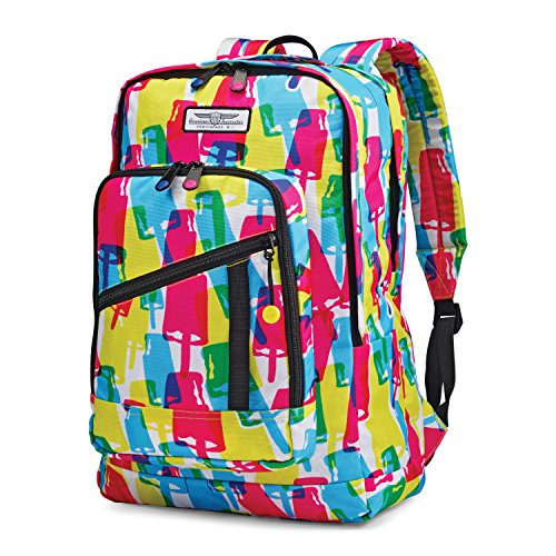 American Tourister Keystone Backpack, Popsicle, 18-Inch