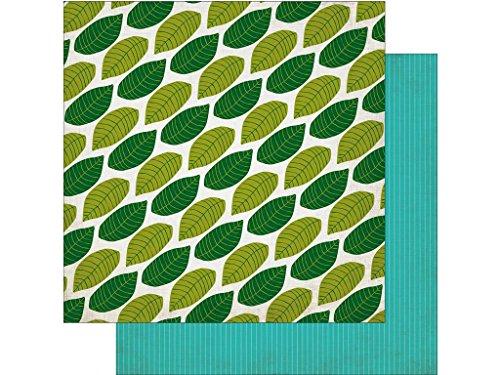 Echo Park Paper Company eppjs117006JF Papier 12x 12Sonnendach lässt Jungle Safari Papier 12x 12Himmel Blätter