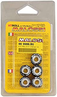 9 Honda SH SH Scoopy 125 MALOSSI 6611095F0 6 rodillos HTRoll /Ø20x17 gr