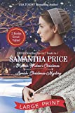 Amish Christmas Special - 2 BOOKS IN 1: LARGE PRINT EDITION: Amish Widow's Christmas: Amish Christmas Mystery - Samantha Price