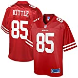 NFL PRO LINE Men's George Kittle Scarlet San Francisco 49ers Team Jersey