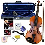 Best Beginner Violins - Bunnel Premier Violin Clearance Outfit 4/4 Full Size Review