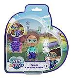 Vet Squad- Yara y su Conejito Luna (Vivid Toy Group 334211008)
