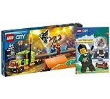 Collectix Lego City 60294 - Camión de Stuntshow-Truck (cubierta blanda)