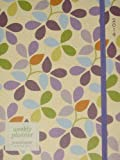 2014 6x8 Rice Floral Flexi 18-Month Engagement Calendar / Weekly Planner