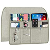 Joywell Armchair Caddy Remote Control Holder for Couch Recliner Armrest Organizer Non Slip Sofa Arm...