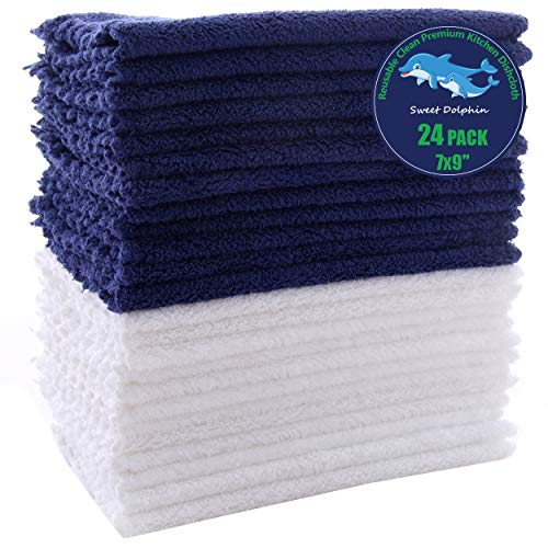 (30% OFF) 24 Pack Kitchen Dishcloths $8.39 – Coupon Code
