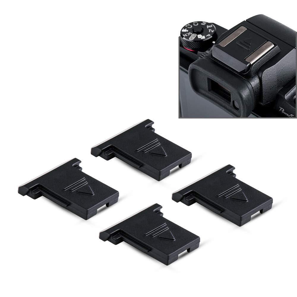 5 x Hot Shoe Cover Cap For Flash Mount Canon Nikon Olympus Panasonic Pentax Fuji