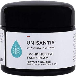 Unisantis Frankincense lugnande ansiktskräm | lugnar och mjukar upp irriterad och röd hud | Summer hudvård väsentligheter...