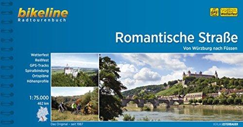 Romantische Strasse W??rzburg - F??ssen GPS wp by Bikeline (2011-08-17)