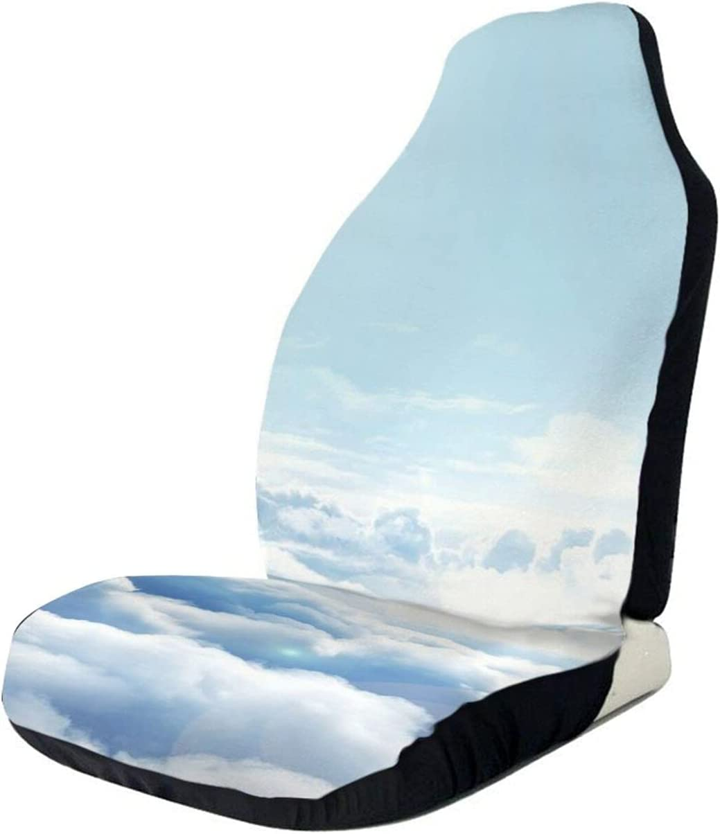 Universal Car Seat New color Covers Winter Sale Front Clouds Print