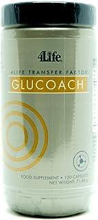 4Life Transfer Factor GluCoach - 120 cápsulas - ORIGINAL - contiene calostro. hierbas. vitaminas y minerales