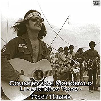 Live in New York - Part Three (Live)