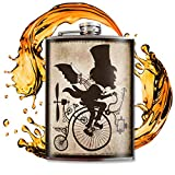 the Inventor flask - 8oz Stainless Steel by Trixie & Milo by Trixie & Milo