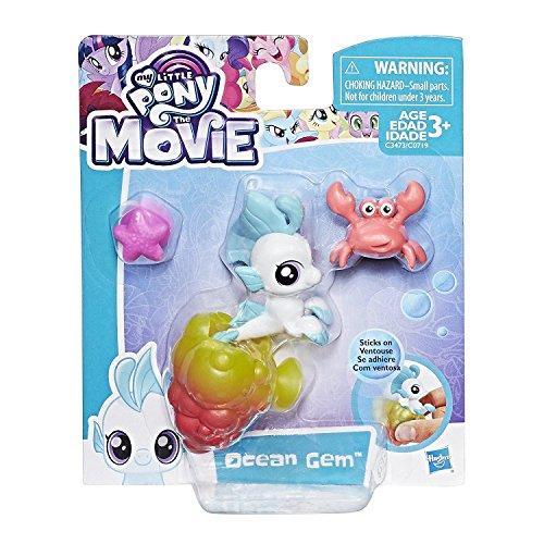 Hasbro My Little Pony The Movie Baby Seapony Ocean Gem