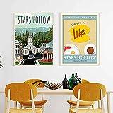 Tougmoo Tischdrucke von Luca Cucina Wandkunst Bild Sterne