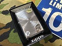 プレゼントに最適イニシャル メタル ジッポーライター mercismith2zippo SSP-R