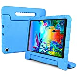 REGOKI Case for LG G Pad 5 10.1, Shockproof Lightweight Convertible Handle Stand Kid-Proof Protection Cover Compatible with LG G Pad5 LM-T600 / LM-T605 10.1-Inch Tablet 2019 Released (Blue)