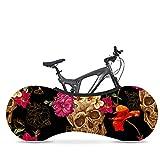 Wooden fish Funda Bici para Interiores Funda para Bicicleta Exterior Cubierta Interior De Bicicleta, La Mejor Solución para Mantener Su Interior Limpio para Bicicletas De Adultos,E