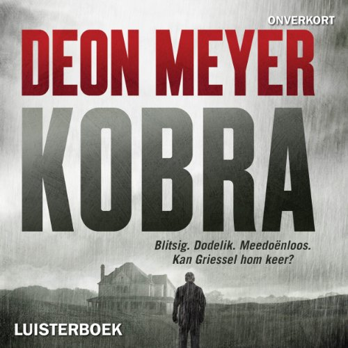 Kobra audiobook cover art