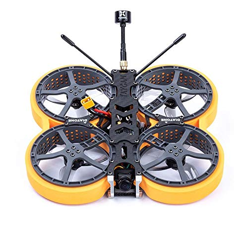 DIATONE MXC2.5 TAYCAN PNP FPV 2.5 inch Racing Drone Cinewhoop RC Quadcopter with Ratel/VISTA Video Camera MAMBA F411 25A AIO TX400 VTX (with Ratel Camera)
