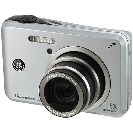 Ge General Electric J1455 Digitalkamera 3 0 Zoll Silber Kamera