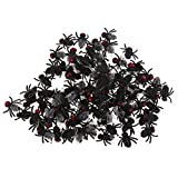 100 Stück Fliege Hausfliege Halloween Scherzen Bugs Toys